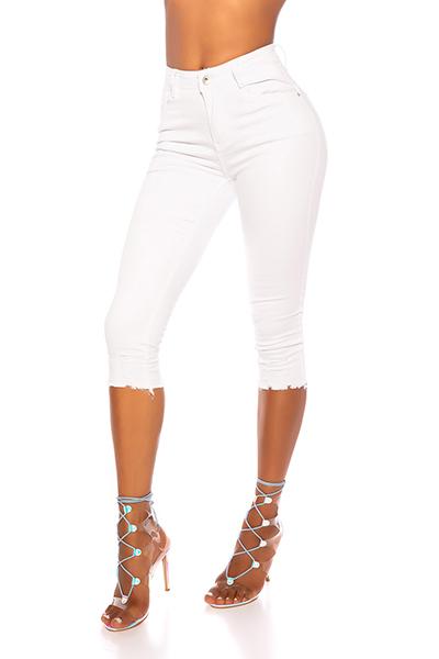 Roupa PUSH UP Capri Jeans