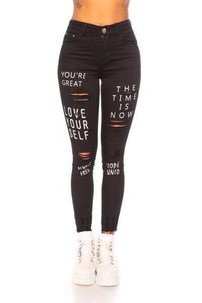 Roupa Jeans Skinny