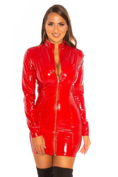 Roupa Vestido de latex