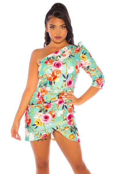 Roupa Vestido florido