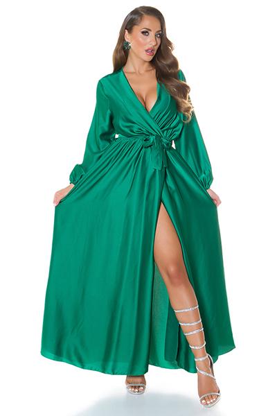 Roupa Vestido cetim