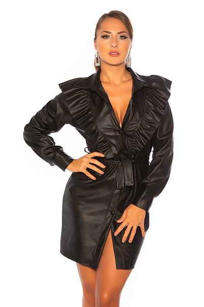 Roupa Vestido estilo pele