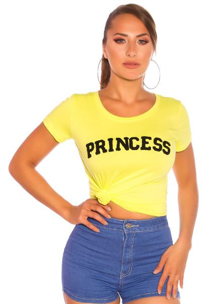 Roupa T-shirt Princess