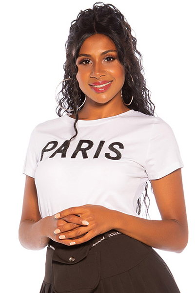 Roupa T-Shirt PARIS