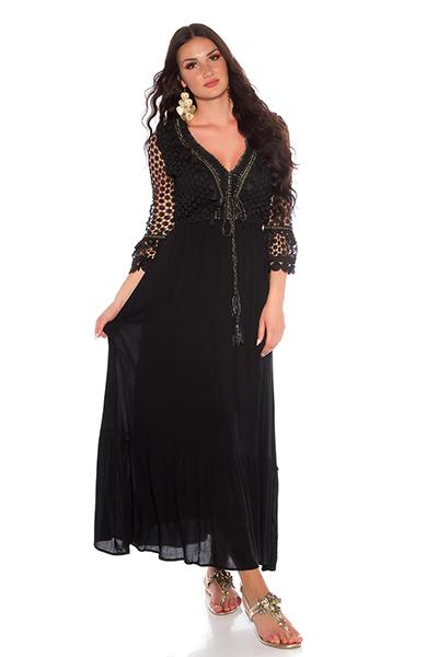 Roupa Vestido rendado