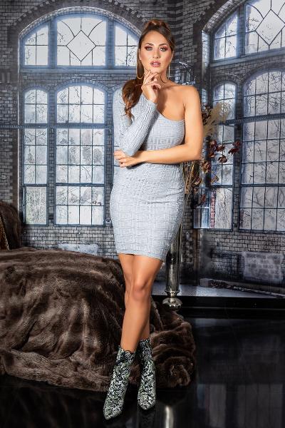 Roupa Vestido de malha