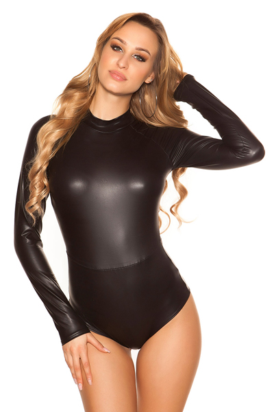 Roupa Body wetlook