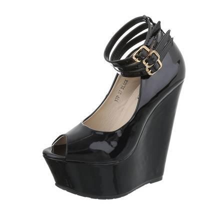 Roupa Sapatos de cunha