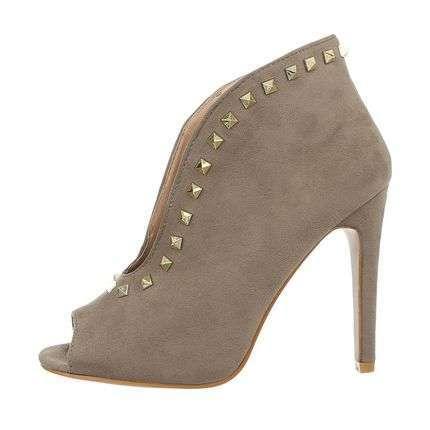 Roupa Sapatos Biqueira Aberta