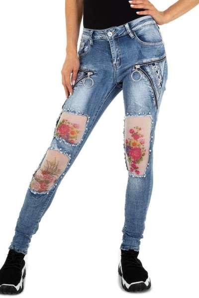 Roupa Jeans aplicações