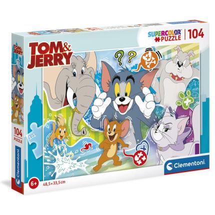 Roupa Puzzle Tom e Jerry
