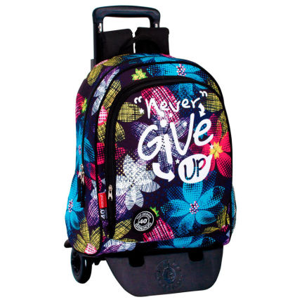 Roupa Trolley Never Give Up 43cm