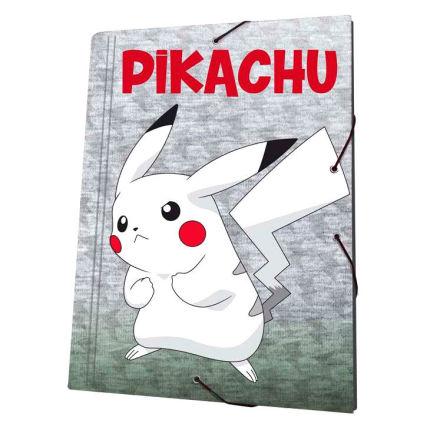 Roupa Capa com elásticos A4 Pikachu
