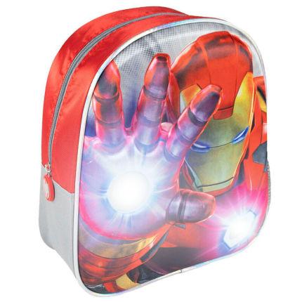 Roupa Mochila 3D Vingadores Avengers Marvel 31cm