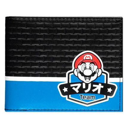 Roupa Carteira Super Mario Nintendo