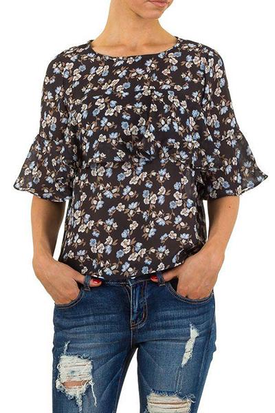Roupa Blusa florida
