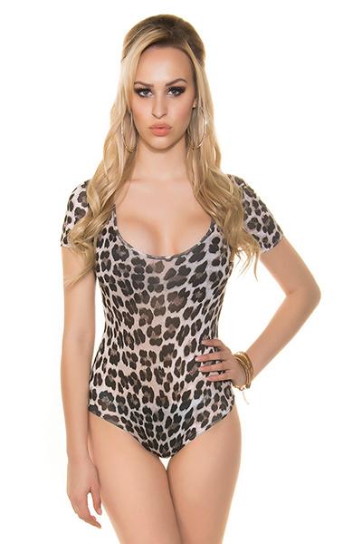 Roupa Body leopardo