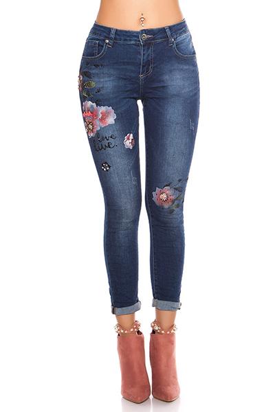 Roupa Jeans pintados