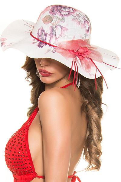 Roupa Chapéu florido