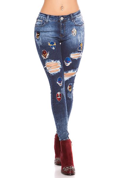 Roupa Jeans c/ remendos