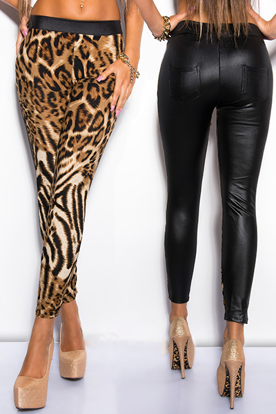 Roupa Leggings wetlook