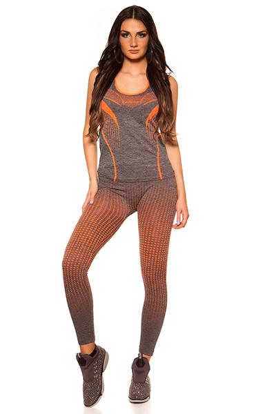 Roupa Conjunto - top e leggings
