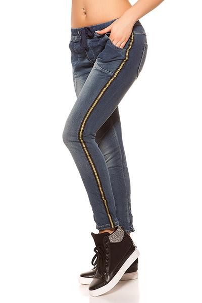 Roupa Jeans c/ contraste