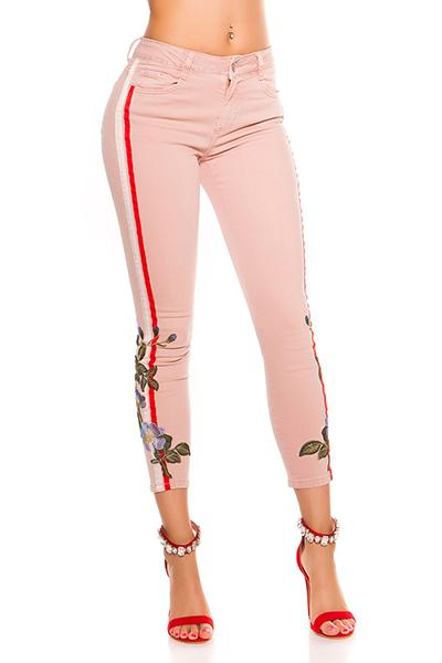 Roupa Jeans c/ bordado