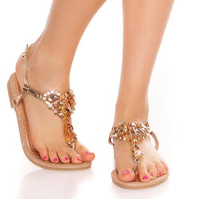 Roupa Sandálias de dedo