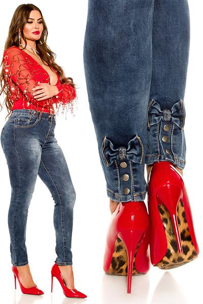 Roupa Jeans c/ laços