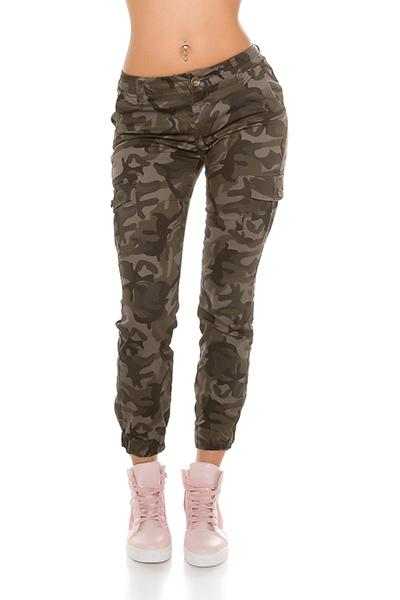 Roupa Jeans camuflados