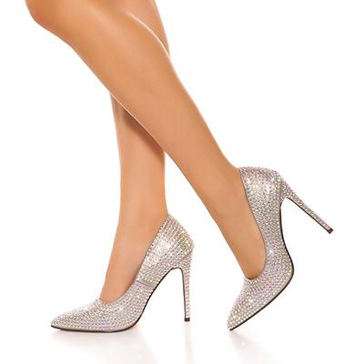 Roupa Sapatos c/ glitter