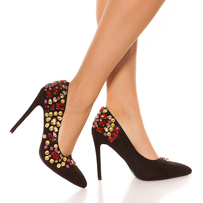Roupa Sapatos c/ cristais