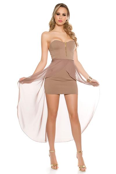Roupa Vestido caudal