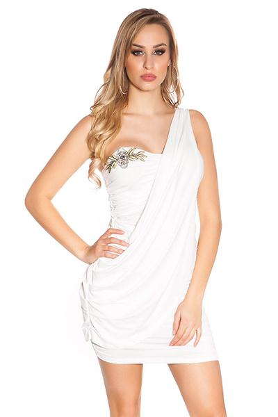 Roupa Vestido franzido