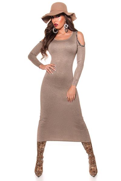 Roupa Vestido em malha
