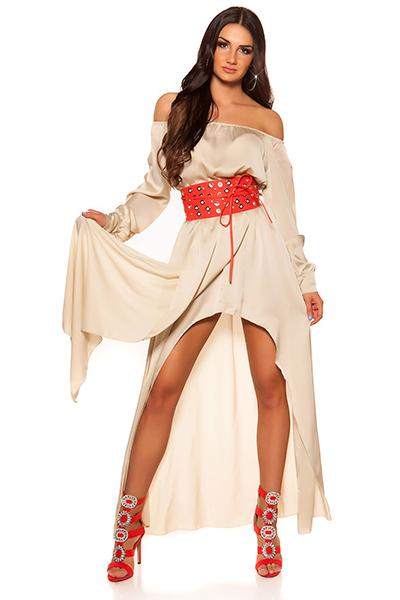 Roupa Vestido em cetim