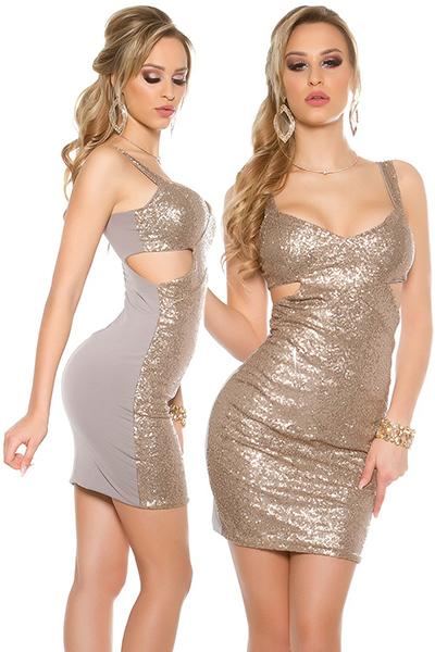 Roupa Vestido c/ sequins