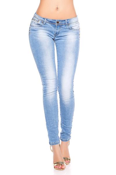 Roupa Jeans c/ tachas