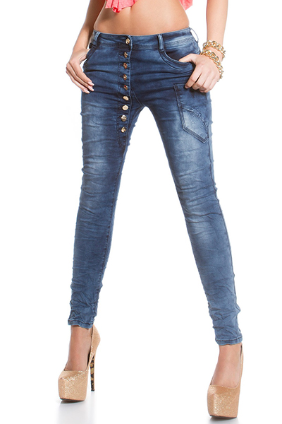 Roupa Jeans estilo saruel