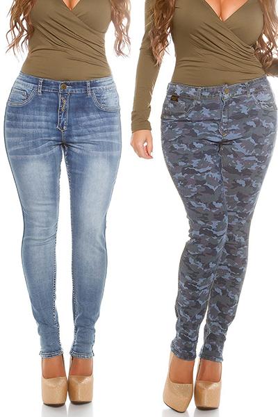 Roupa Jeans reversíveis