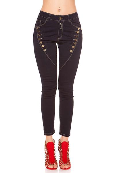 Roupa Jeans c/ botões