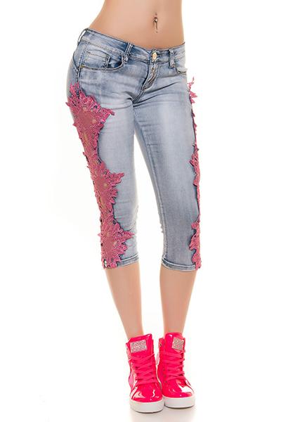 Roupa Jeans capri