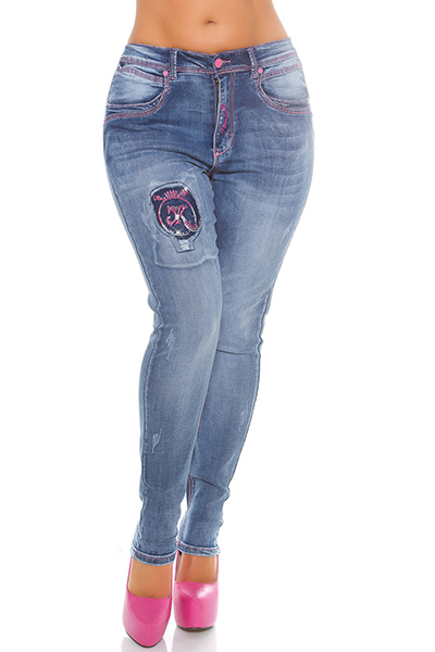 Roupa Jeans Push Up