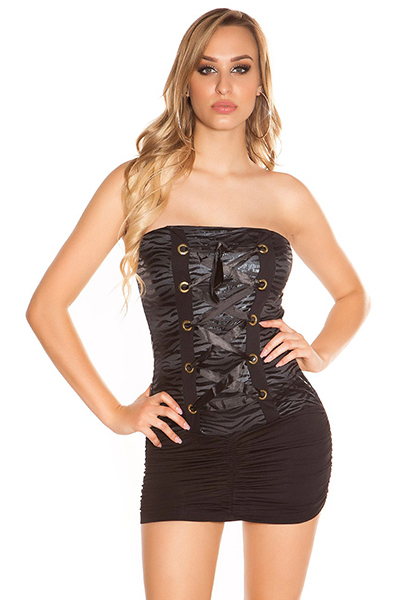 Roupa Vestido bustier