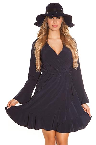 Roupa Vestido drapeado