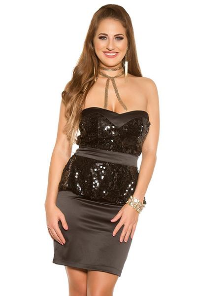 Roupa Vestido c/ lantejoulas