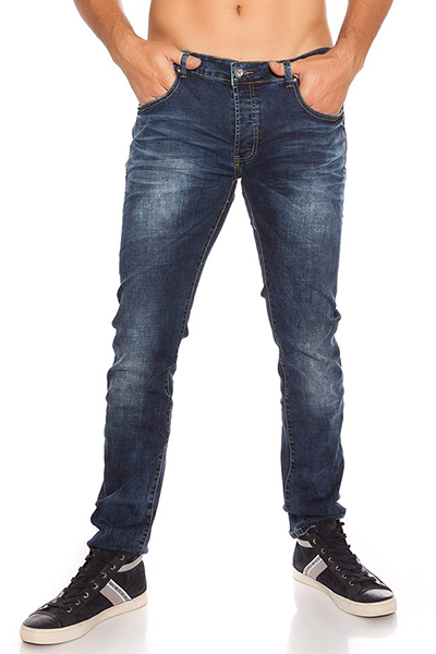 Roupa Jeans masculinos SLIM