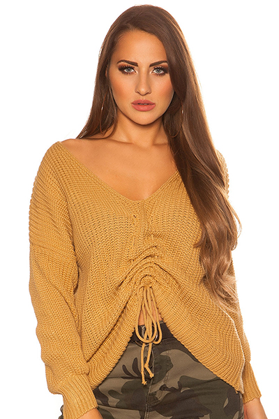 Roupa Pullover de malha