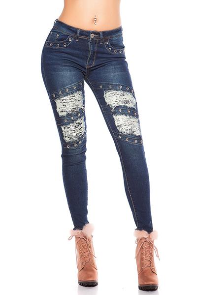 Roupa Jeans c/ sequins